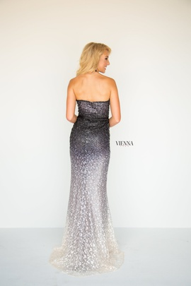 Style 8513 Vienna Black Size 0 Sweetheart Tall Height Mermaid Dress on Queenly
