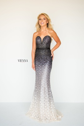 Style 8513 Vienna Purple Size 00 Sweetheart Strapless Mermaid Dress on Queenly