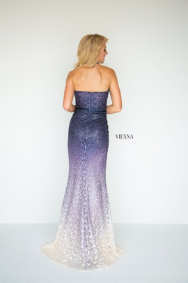 Queenly size 00 Vienna Purple Mermaid evening gown/formal dress