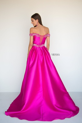 Style 9960 Vienna Pink Size 00 Belt Overskirt Train Dress on Queenly