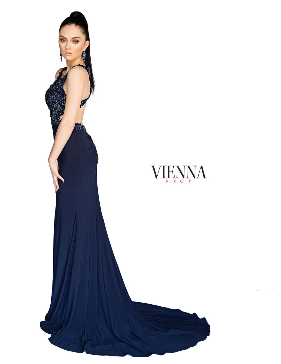 Style 8406 Vienna Yellow Size 10 Backless Tall Height Train Dress on Queenly