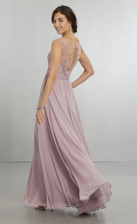 Mori Lee Light Pink Size 0 Prom A-line Dress on Queenly