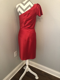 Antonio Melani Red Size 6 Interview Cocktail Dress on Queenly