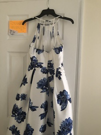 Teeze Me White Size 6 Homecoming Cocktail Dress on Queenly