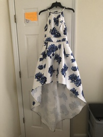 Queenly size 6 Teeze Me White Cocktail evening gown/formal dress