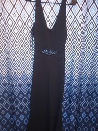 Queenly size 16 Windsor Multicolor Straight evening gown/formal dress