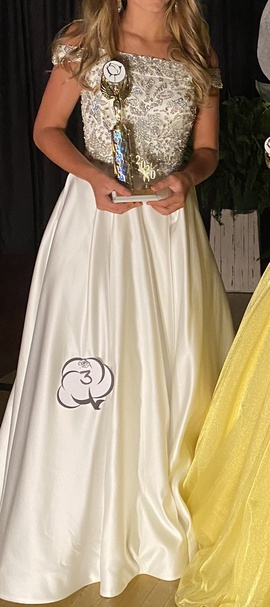 Sherri Hill White Size 2 Jewelled Pageant Ball gown on Queenly