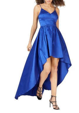 Queenly size 2  Blue Cocktail evening gown/formal dress