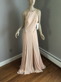 Queenly size 10 Jovani Pink Train evening gown/formal dress