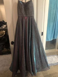 Queenly size 6  Multicolor Ball gown evening gown/formal dress