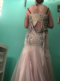 Mori Lee Pink Size 4 Mermaid Dress on Queenly
