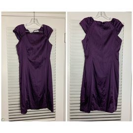 Queenly size 12 Calvin Klein Purple Cocktail evening gown/formal dress