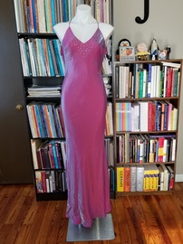 Queenly size 8 Fashion 1001 Nights Pink Mermaid evening gown/formal dress