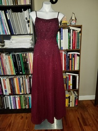 Queenly size 6 Scala Purple A-line evening gown/formal dress
