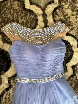 Sherri Hill Purple Size 0 Jewelled Pageant A-line Dress on Queenly