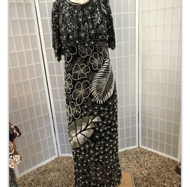 Black Size 8 Straight Dress on Queenly