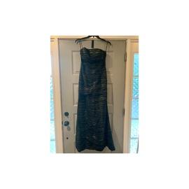 Jovani Black Size 8 Strapless Mermaid Dress on Queenly
