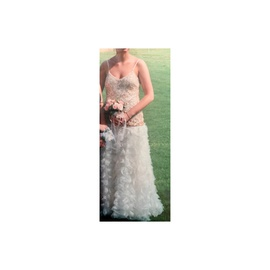 Precious Formals Nude Size 6 Ball gown on Queenly