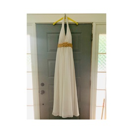 Queenly size 16 Faviana White Ball gown evening gown/formal dress