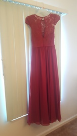 JJ's House Red Size 6 A-line Dress on Queenly