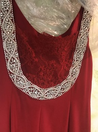 Queenly size 22 Marsoni Red Straight evening gown/formal dress