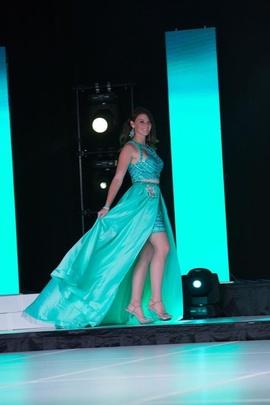Rachel Allan Blue Size 6 Pageant Train Dress on Queenly