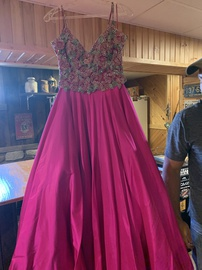 Queenly size 2 Sherri Hill Pink Ball gown evening gown/formal dress