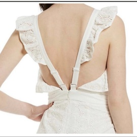 Gianni Bini White Size 2 Jumpsuit Romper/Jumpsuit Dress on Queenly