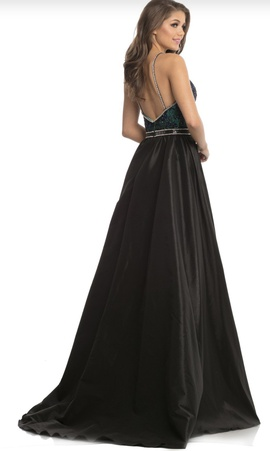 Johnathan Kayne Blue Size 8 Pageant Sequin Jersey Ball gown on Queenly