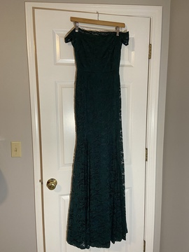 Queenly size 6 Windsor Green Mermaid evening gown/formal dress