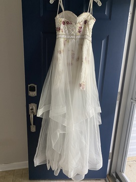 David's Bridal Multicolor Size 6 Tall Height Cocktail Dress on Queenly