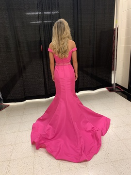 Sherri Hill Pink Size 0 Pageant Mermaid Dress on Queenly