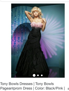 Tony Bowls Black Size 2 Mermaid Dress on Queenly