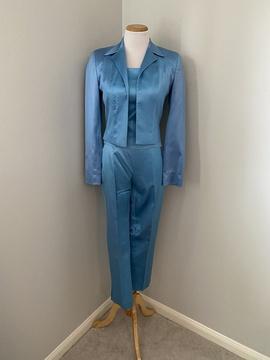 Blue Size 2 Romper/Jumpsuit Dress on Queenly