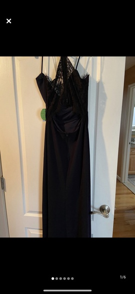Queenly size 4 Windsor Blue Side slit evening gown/formal dress