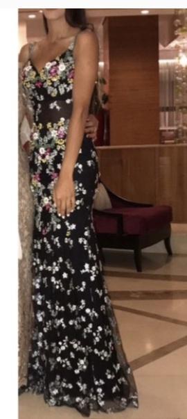 Mac Duggal Multicolor Size 0 Backless Custom Mermaid Dress on Queenly
