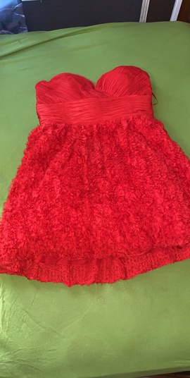 Queenly size 18 Jovani Red Cocktail evening gown/formal dress