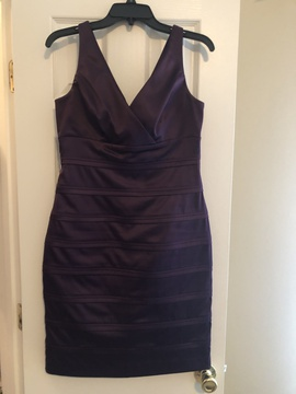 Queenly size 8  Purple Cocktail evening gown/formal dress