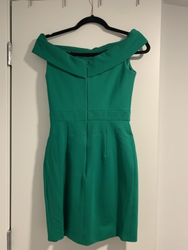 Sherri Hill Green Size 2 Tall Height Cocktail Dress on Queenly