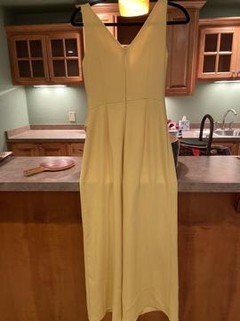 Antonio Melani Yellow Size 2 Mini Romper/Jumpsuit Dress on Queenly