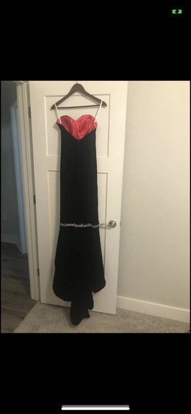 Tiffany Designs Black Size 4 Straight Dress on Queenly