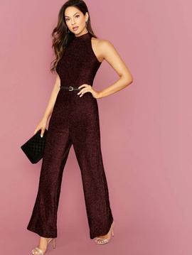 Queenly size 4  Red Romper/Jumpsuit evening gown/formal dress