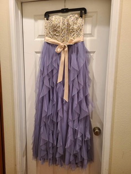 Queenly size 12  Purple Straight evening gown/formal dress
