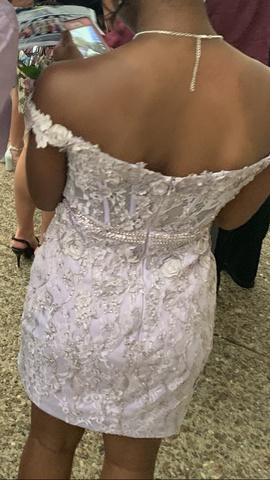 Rachel Allan Purple Size 4 Short Height Straight Dress on Queenly