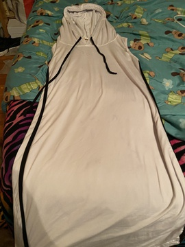 White Size 12 Straight Dress on Queenly