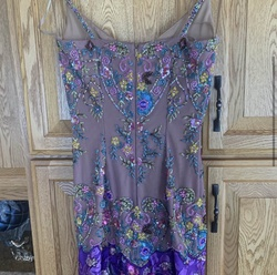 sherry haute couture Multicolor Size 4 Mermaid Dress on Queenly