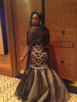 Mori Lee Black Size 20 Prom Mermaid Dress on Queenly