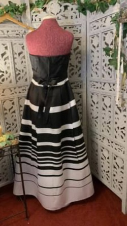 Windsor Black Size 12 Short Height Ball gown on Queenly