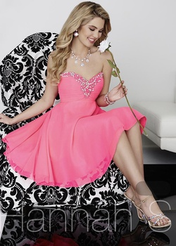 Queenly size 0 Hahhah S Pink Cocktail evening gown/formal dress