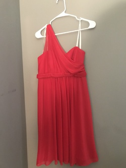 David's Bridal Red Size 10 Homecoming Davids Bridal A-line Dress on Queenly